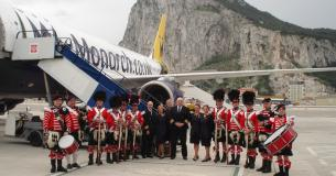 Monarch BHX Inaugural Flight 23Mar13